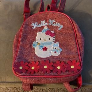 Hello Kitty backpack purse